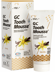 Крем для зубiв GC Tooth Mousse Vannilla 35 мл Ванільний
