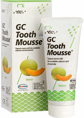 Крем для зубiв GC Tooth Mousse Melon 35 мл Диня